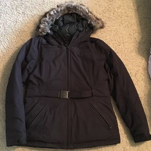 The North Face women puff down jacket